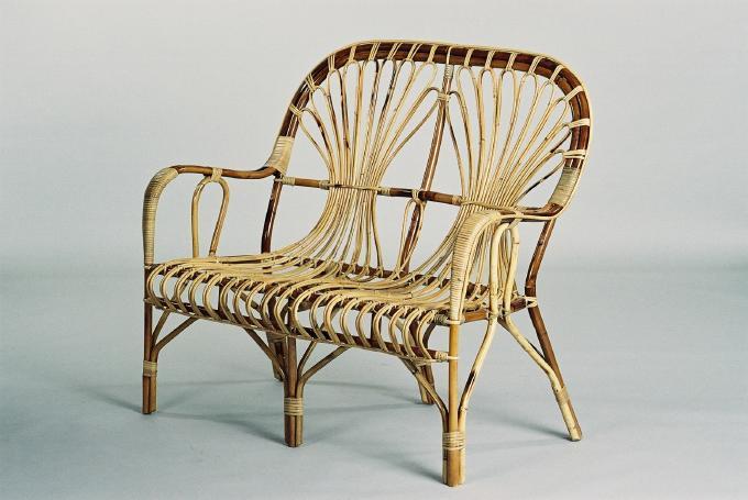 rattan bank m bel b nkli. Black Bedroom Furniture Sets. Home Design Ideas