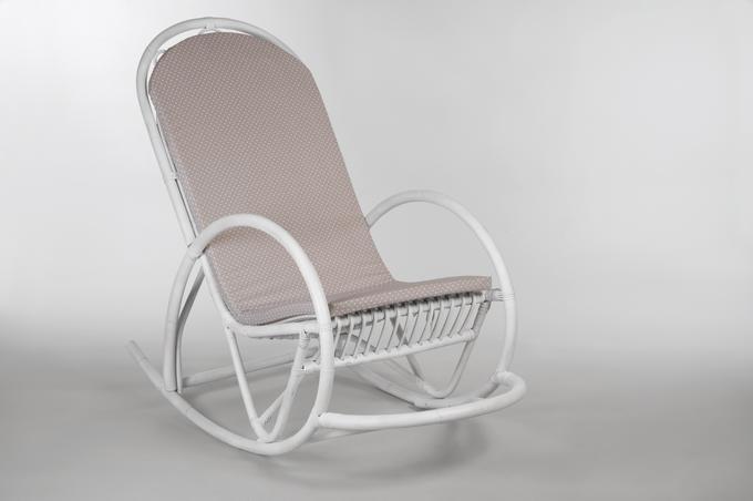 schaukelstuhl weiss gespritzt ohne kissen m bel schaukelst hle. Black Bedroom Furniture Sets. Home Design Ideas