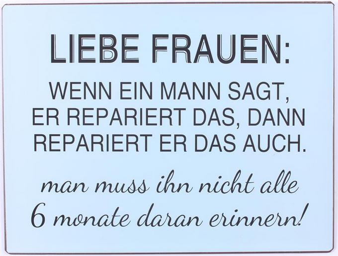 Das wenn ein er macht mann sagt Liste deutscher