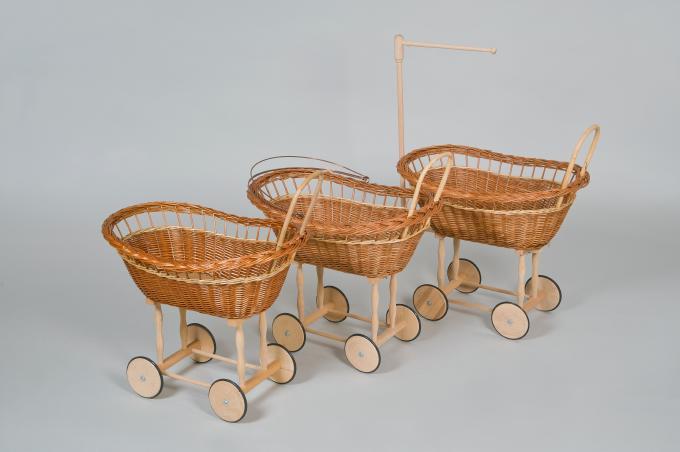 puppenwagen oval holzstange kinderartikel. Black Bedroom Furniture Sets. Home Design Ideas